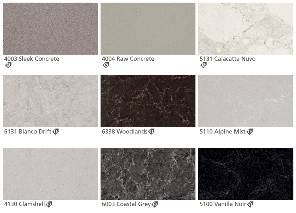 Caesarstone Quartz Colors 2