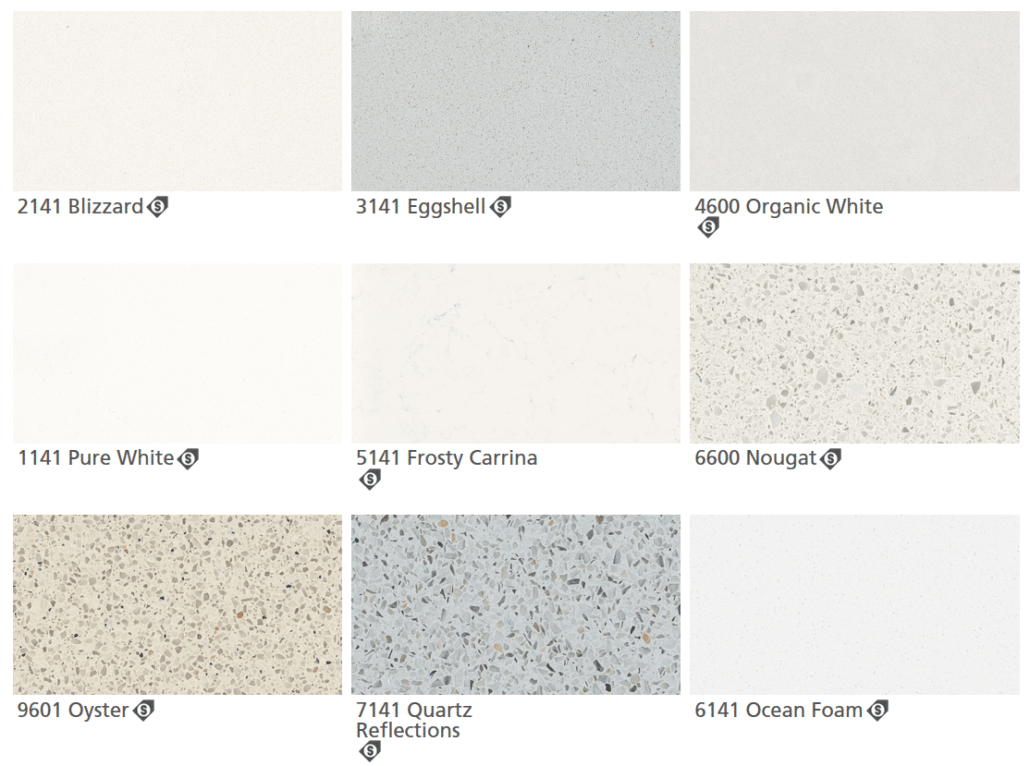 Caesarstone Quartz Colors 3