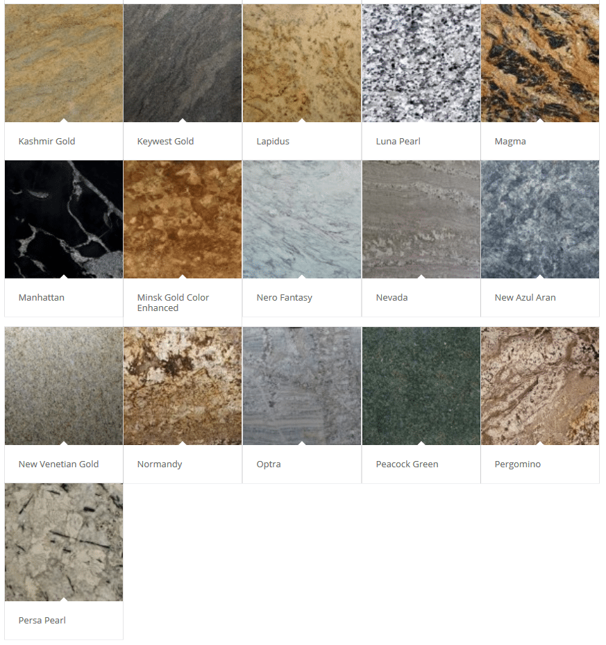 Granite Color Palette