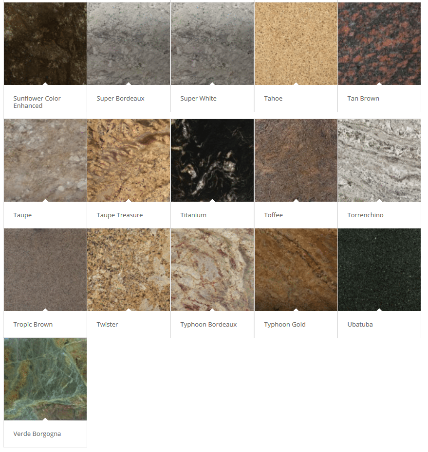 Granite Color Palette 6
