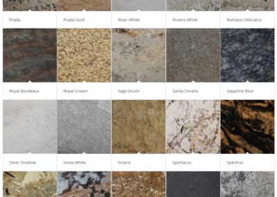 Granite Countertops - Palette 5 - Golds