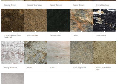 Granite Countertops - Palette 2