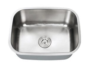 INDUS - Small single bowl stainless steel kitchen sink