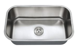 URSA - Big single bowl stainless steel kitchen sink