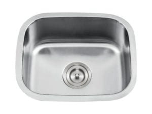 DRACO - Single bowl bar/prep sink - stainless steel