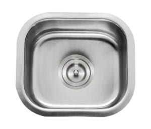 BOOTES - Small single bowl bar/prep sink - stainless steel