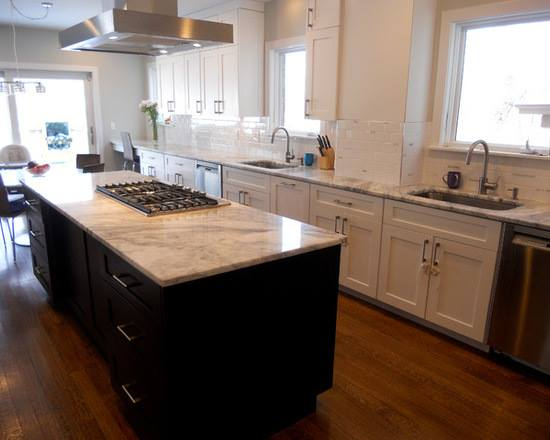 Marble Kitchen Counter Top installed by Choice Granite & Marble