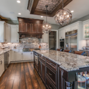 Kitchen Trends include beautiful granite countertops