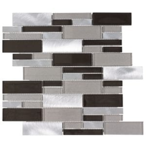 Chrome Mosaic Wolf Accent Tile Choice Pittsburgh Tile Sales
